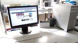 computer apple, elaborazione grafiche, grafica per manifesti