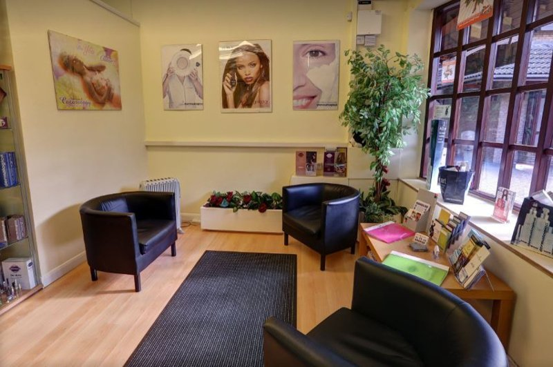 Spacious and comfortable salon