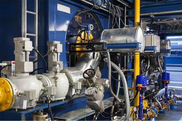 impianti di riscaldamento industriali, impianti di riscaldamento per ospedali, rieti