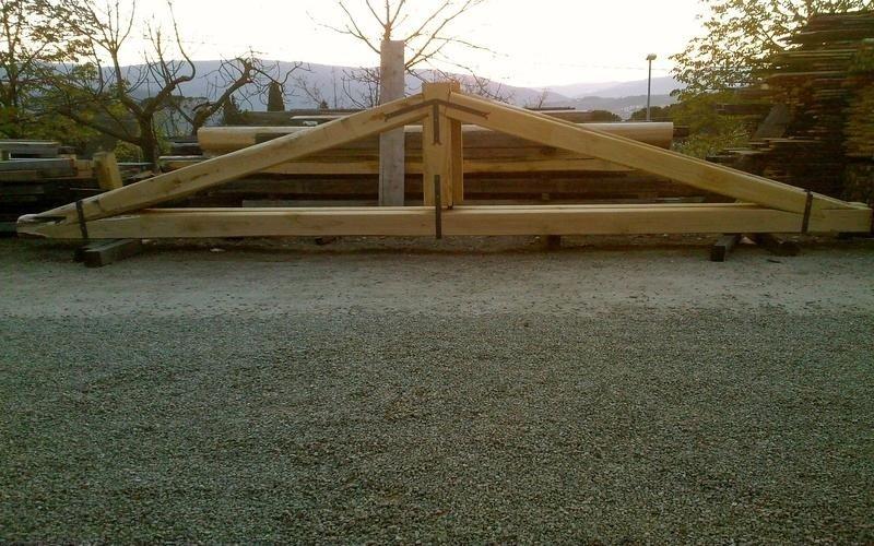 strutture coperture in legno