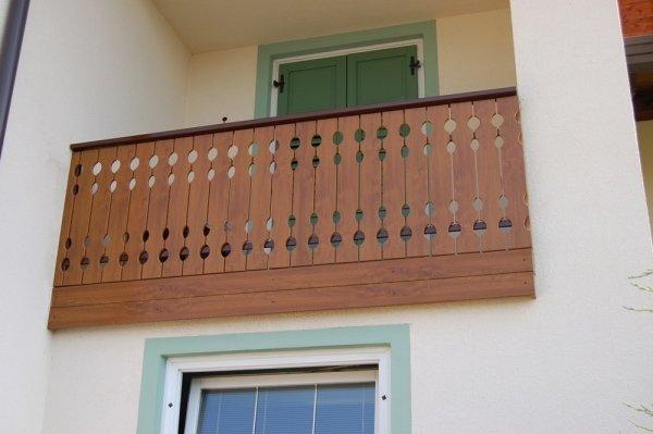 Ringhiere per balconi in alluminio