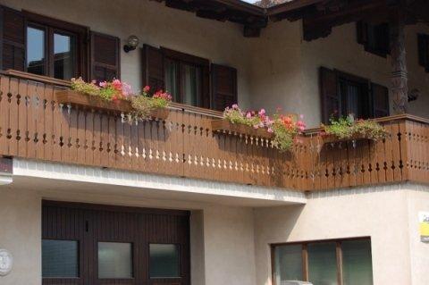 Parapetti per balconi in alluminio