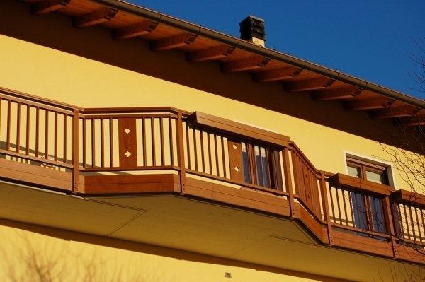 Ringhiere per balconi in pvc