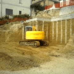 scavi e spianamenti