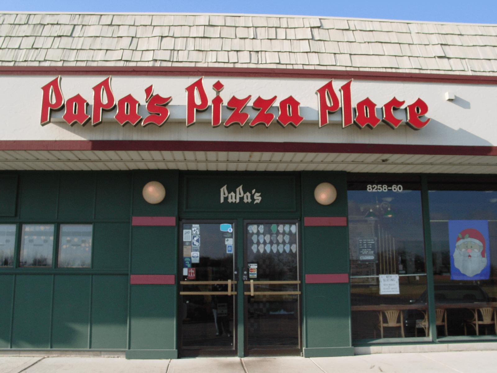 Papa's Pizza Place - Woodridge, IL