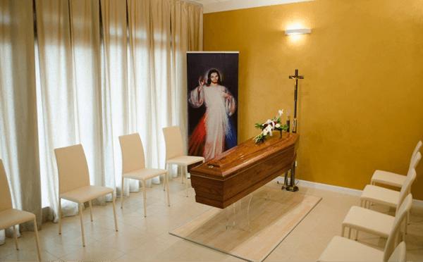 Sala del commiato - Sala della Ginestra