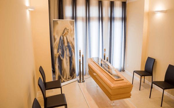 Sala del commiato - Sala del Corbezzolo