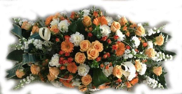 composizioni floreali allungate
