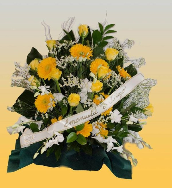 composizioni floreali a ciotola