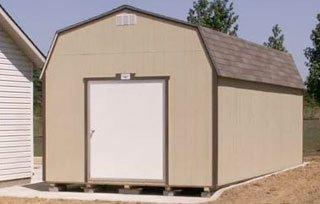 Bald Eagle Barns of Cabot Storage Shed