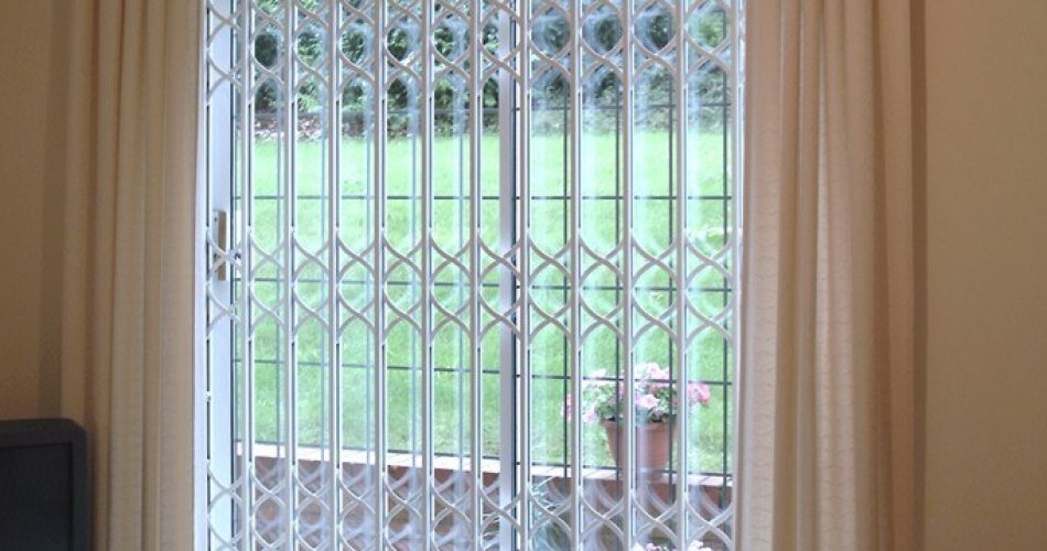 high quality security window grilles in nothern ireland. Black Bedroom Furniture Sets. Home Design Ideas