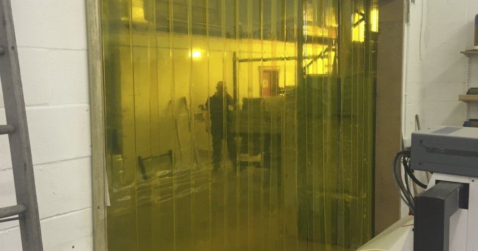 Suppliers of high-quality PVC strip curtains in Northern Ireland
