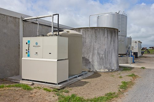 well maintained power saver milk refrigeration system