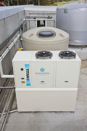 power saver milk refrigeration system