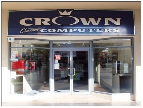 Crown computers store