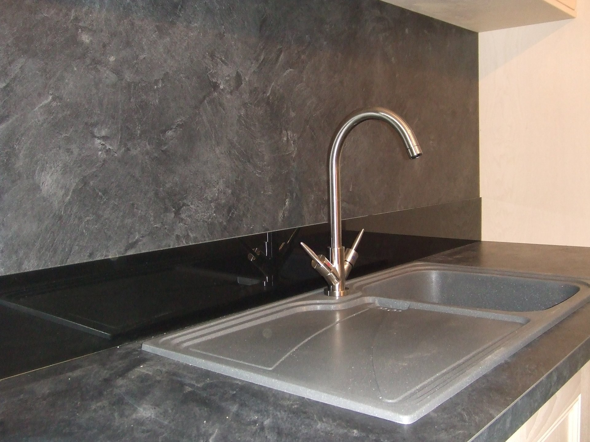 sink with tap