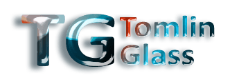 TOMLIN GLASS logo