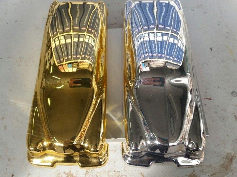 Effetto speciale argento e oro