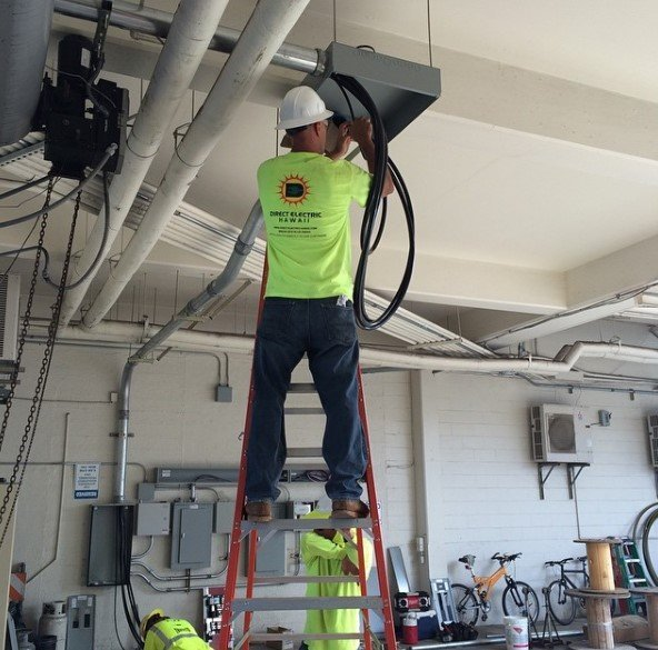 installing electric system
