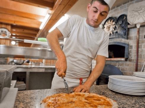 ristorante pizzeria al sole - pizza