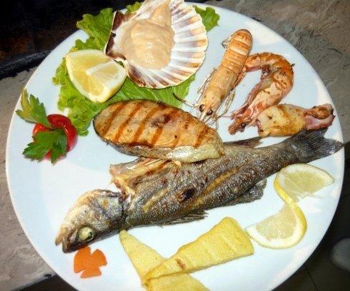 Secondo piatti di pesce