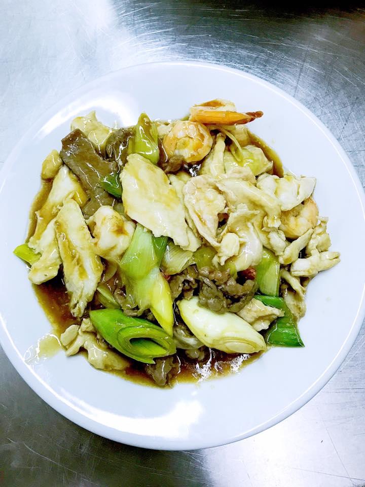 Piatto di verdure miste