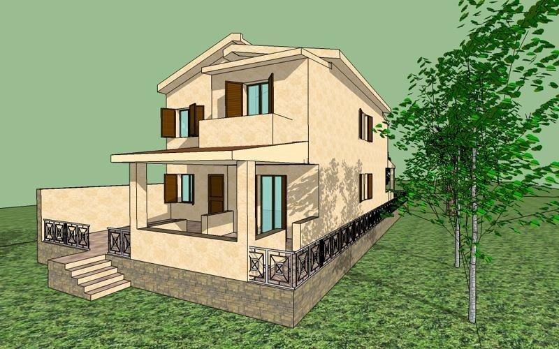 Progetto Villetta bifamiliare