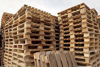 Rebuilt Pallets, Used Pallets, Heat Treated Pallets Buffalo, NY