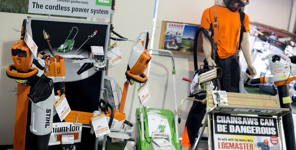 Examples of cordless power systems from our showroom