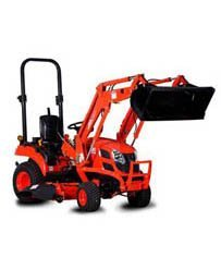 26HP Compact Tractor with mowing deck