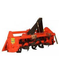 Compact Tractor with rear tiller