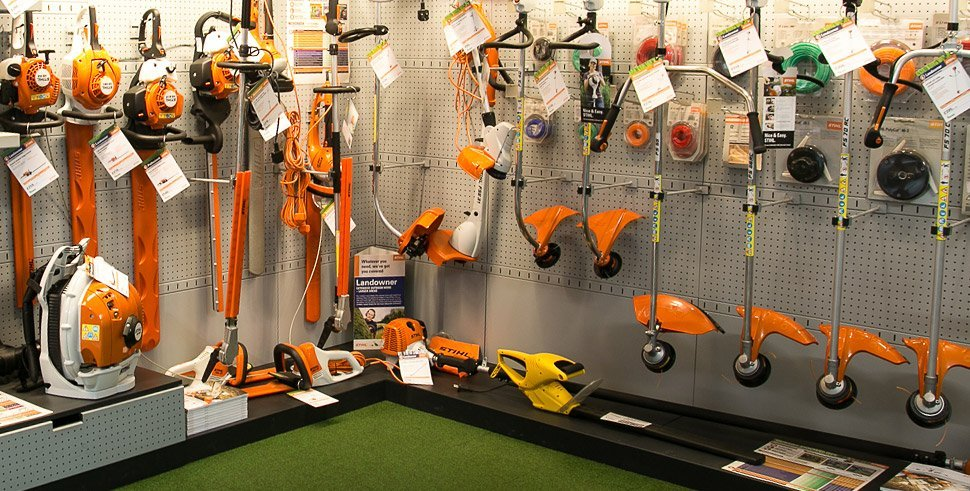Hedgetrimmers & Strimmers