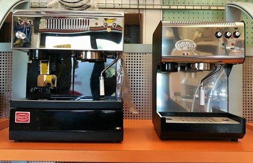 due macchinette del caffè