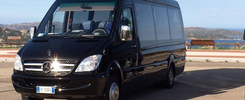 noleggio minivan con conducente