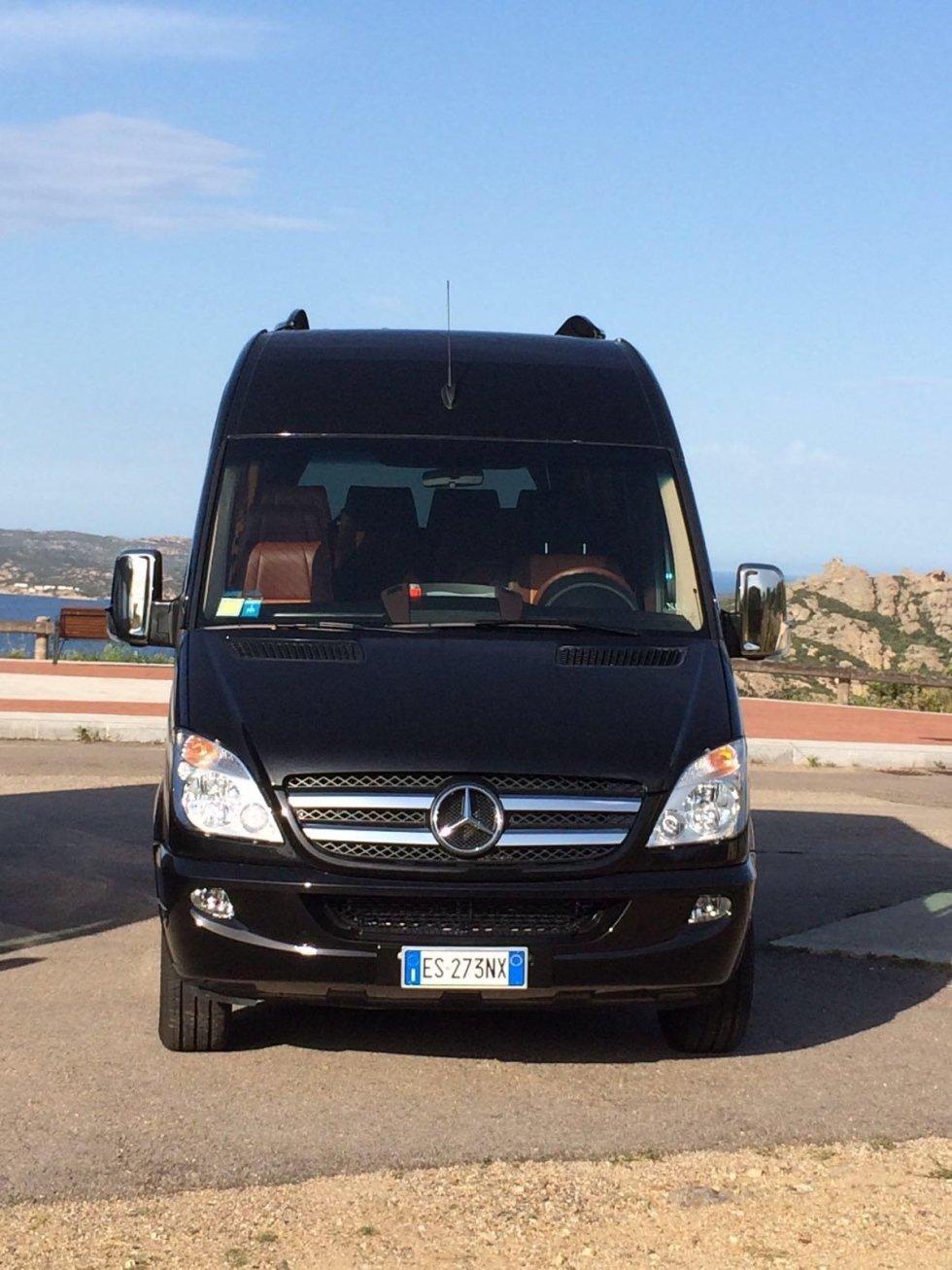 minibus con autista