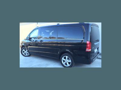 minivan con conducente