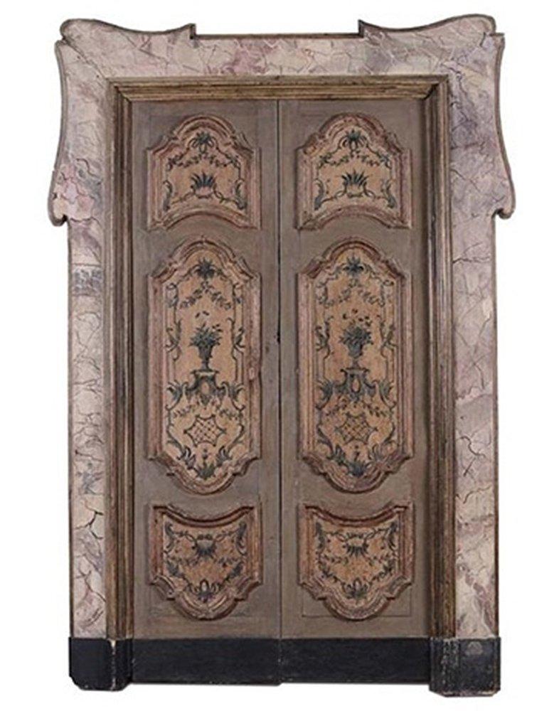 Porte dipinte antiche napoli italy guarracino ciro - Porte antiche dipinte ...