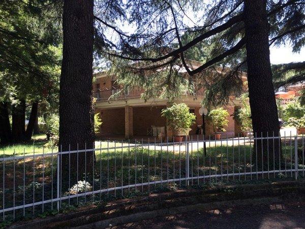 Casa di riposo con area verde