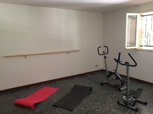 Casa di riposo con sala riabilitazione