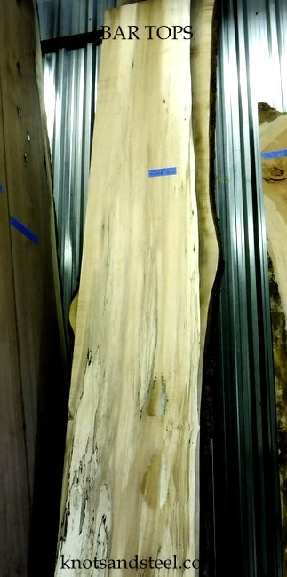 kiln dried live edge wood slabs for bar tops for sale. All Ontario wood.