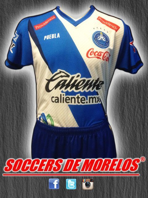 Uniforme Puebla Local 2018