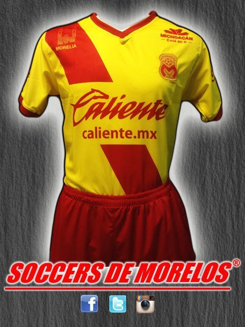 Uniforme Morelia Local 2018