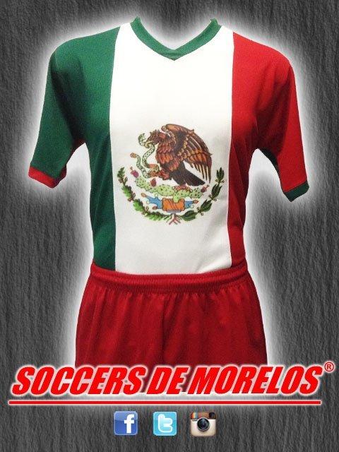 MEXICO EN LA PIEL DRI-FIT SOCCER UNIFORM