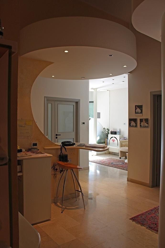 reception centro estetico