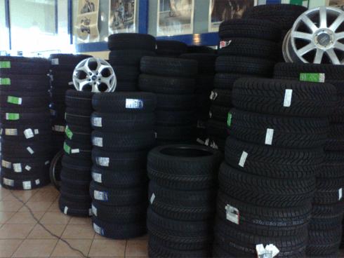 Gomme, Gommista, Pneumatici invernali , vendita pneumatici m+s
