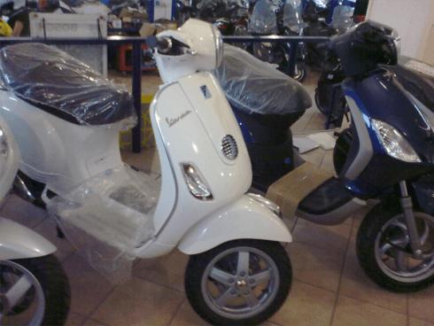 vendita scooter piaggio