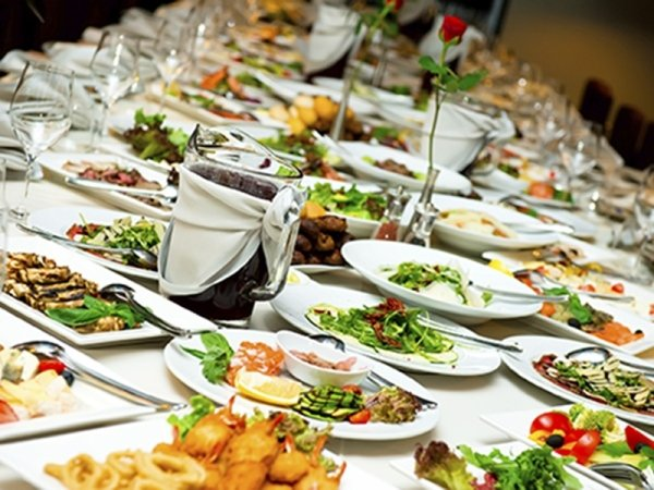 banqueting e buffet