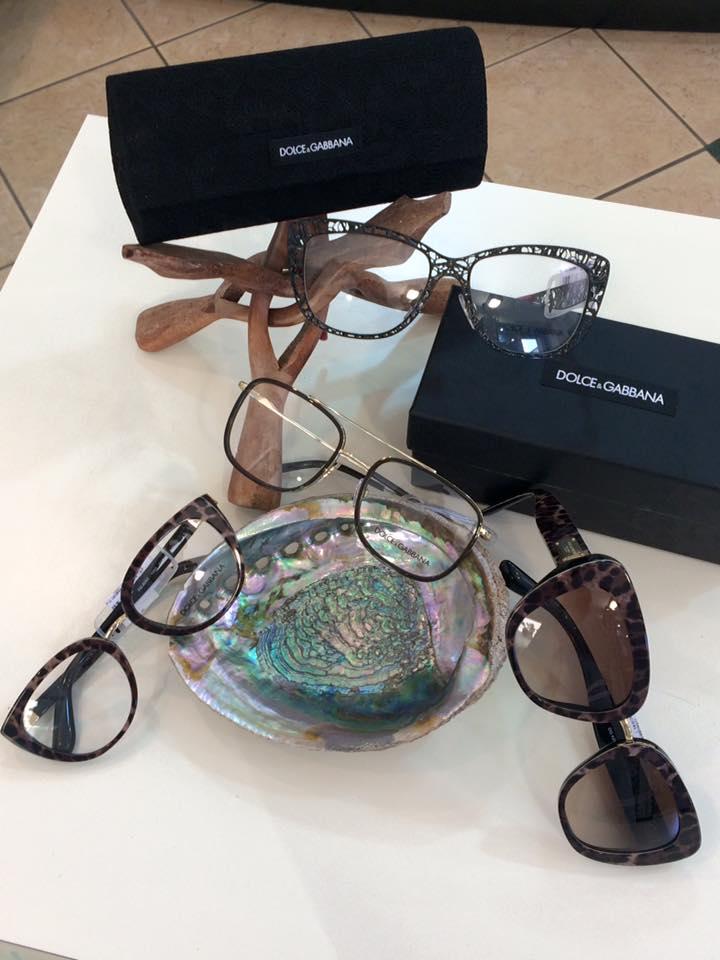 occhiali a marchio DOLCE e GABBANA