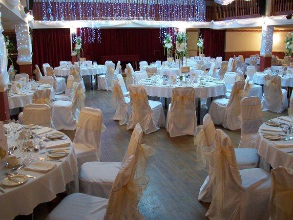 WEDDING RECEPTION REQUIREMENTS