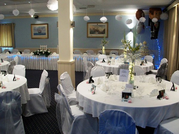 themed party hall
